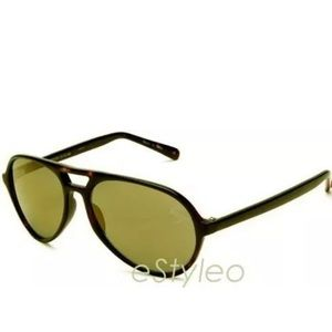 Betsey Johnson Sunglasses Tortoise Gold Mirror